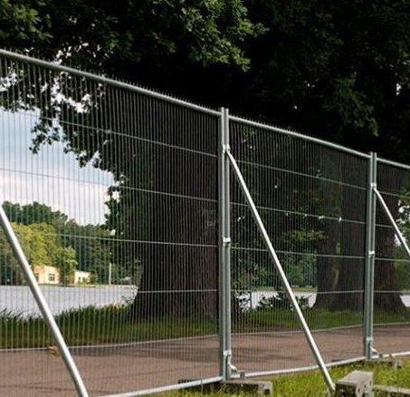 ограда стройки
